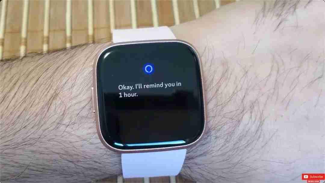 7-Fitbit Versa 2 的 Alexa 语音功能体验