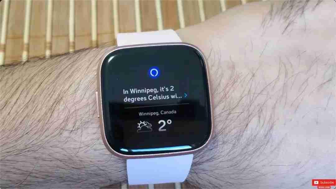 6-Fitbit Versa 2 的 Alexa 语音功能体验