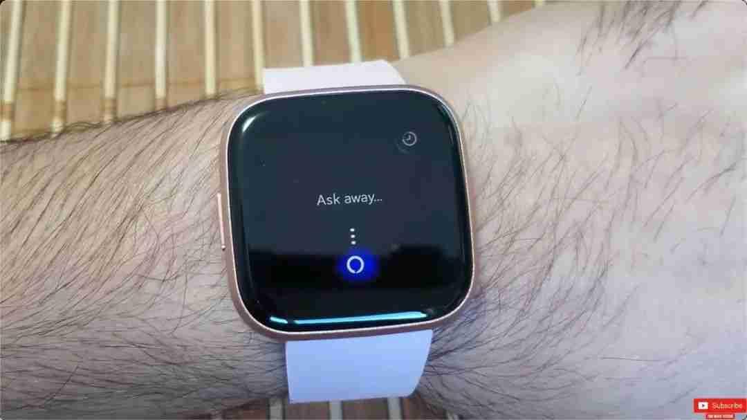 4-Fitbit Versa 2 的 Alexa 语音功能体验
