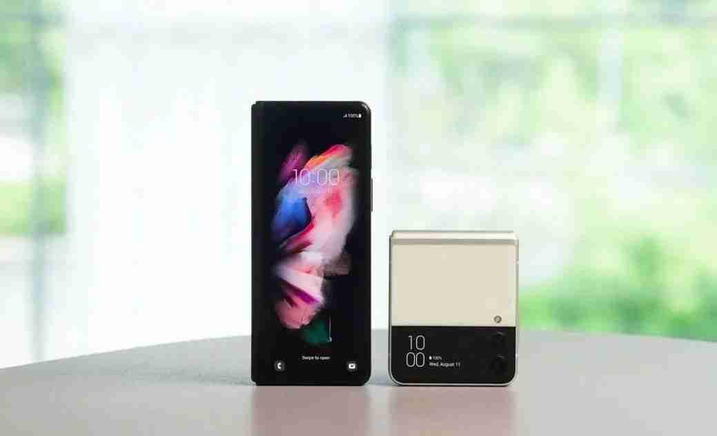 Galaxy Z Fold3 和 Flip3